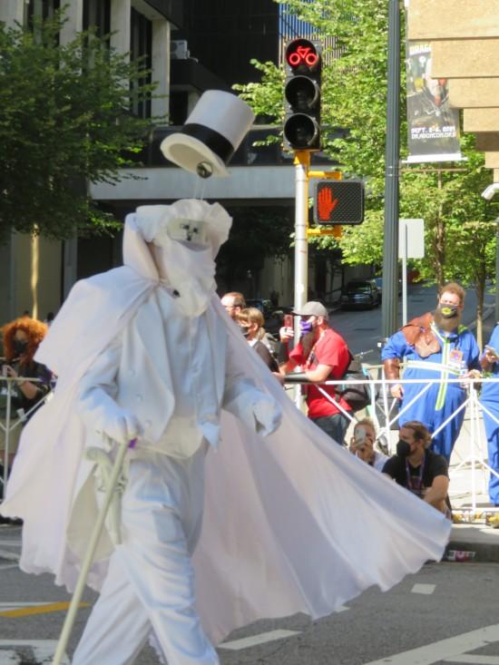Gentleman Ghost cosplay!