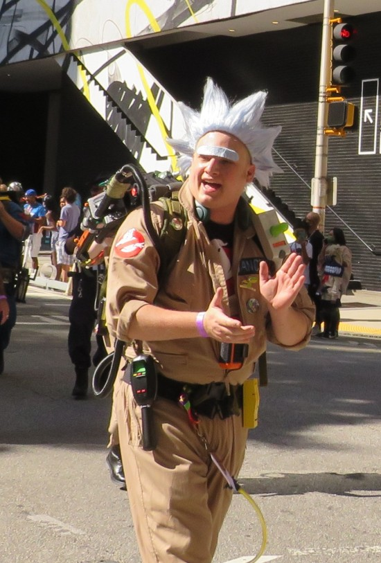 Ghostbuster Rick cosplay!