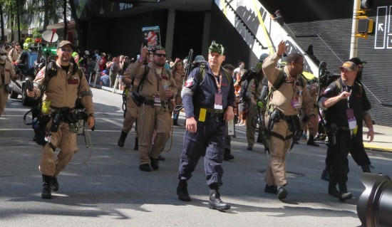 Ghostbusters cosplay!