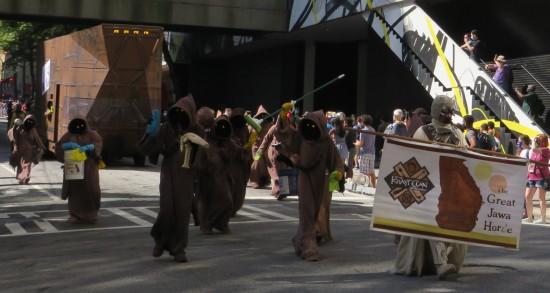 Star Wars Jawas cosplay!
