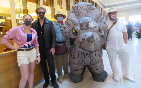 Jurassic Park cast cosplay!