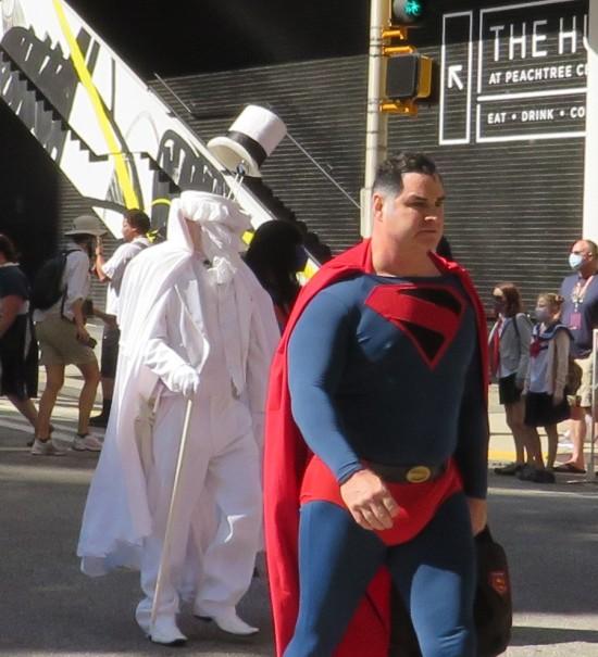 Kingdom Come Superman cosplay!