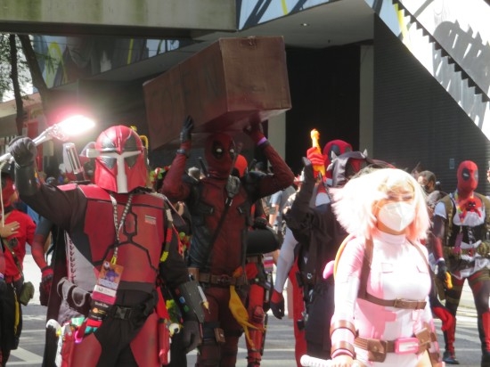 Mandapool cosplay!