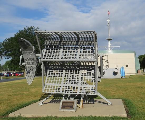 Mark 4 Fire Control Radar Director Antenna!