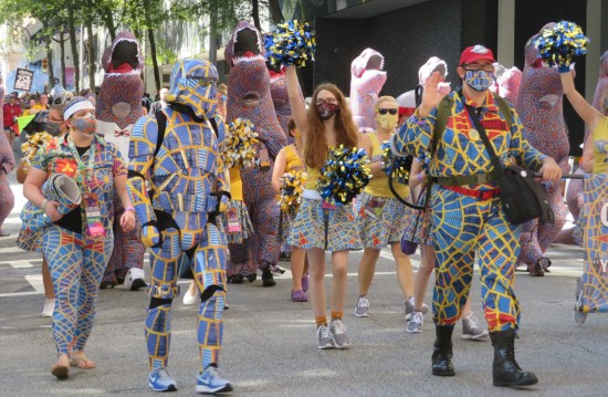 Cult of Marriott Carpet cosplay!
