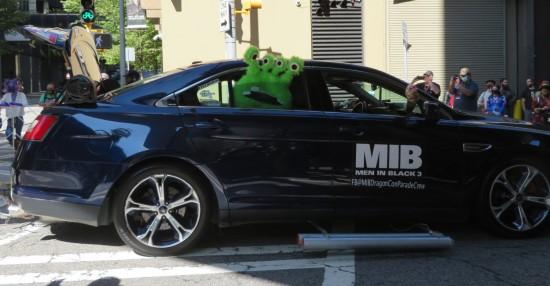 Men in Black Car!