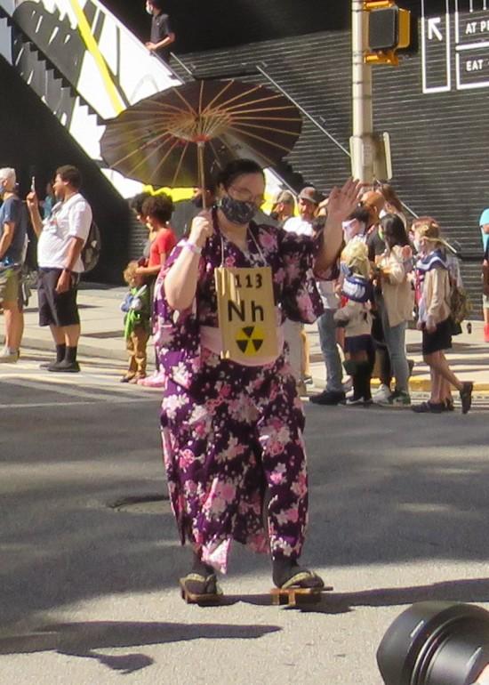 Nihonium cosplay!