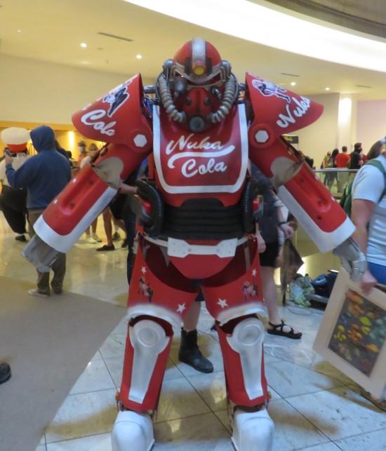 Nuka T-51 power armor cosplay!