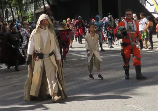Old Luke Skywalker cosplay!