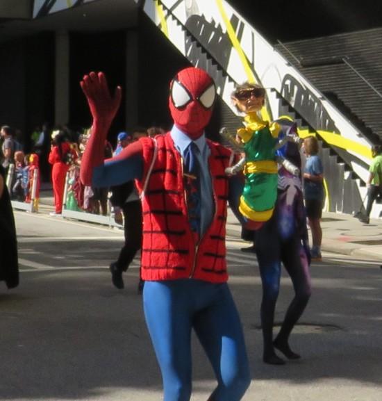 Steve Ditko Peter Parker cosplay!