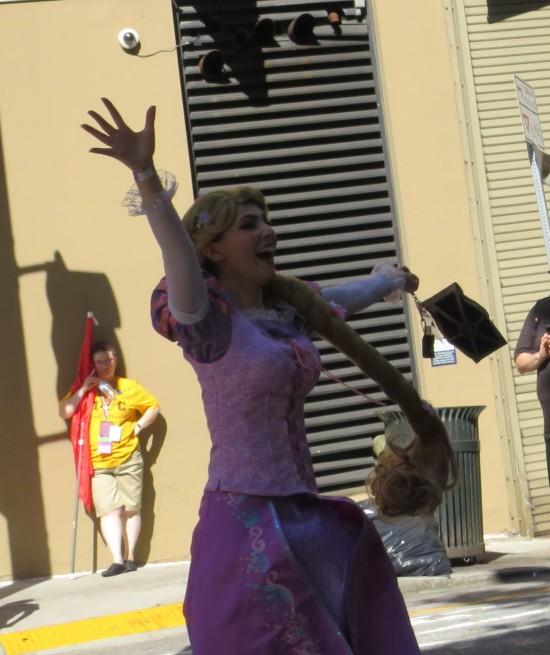 Rapunzel cosplay!