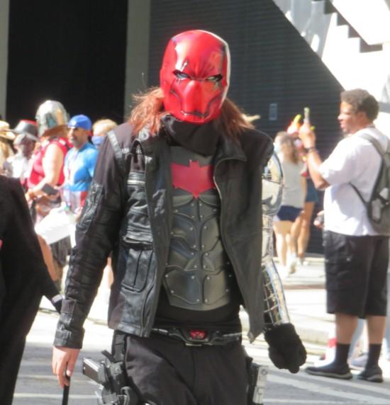 Red Hood cosplay!