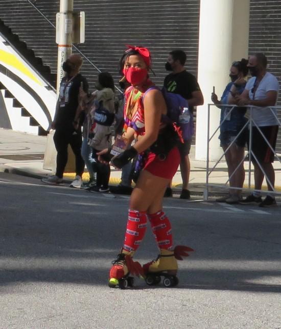 roller skater cosplay!