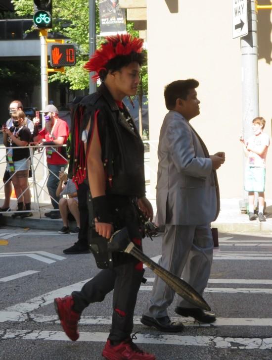 Rufio cosplay!