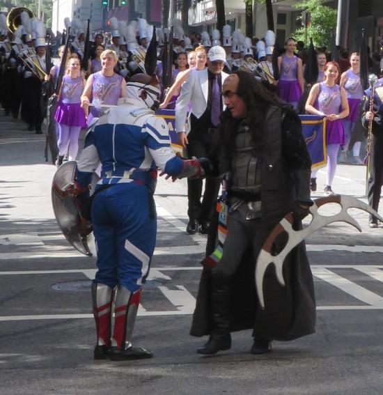Sam Wilson and Klingon cosplay!
