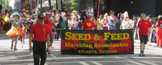Seed and Feed Marching Abominable!