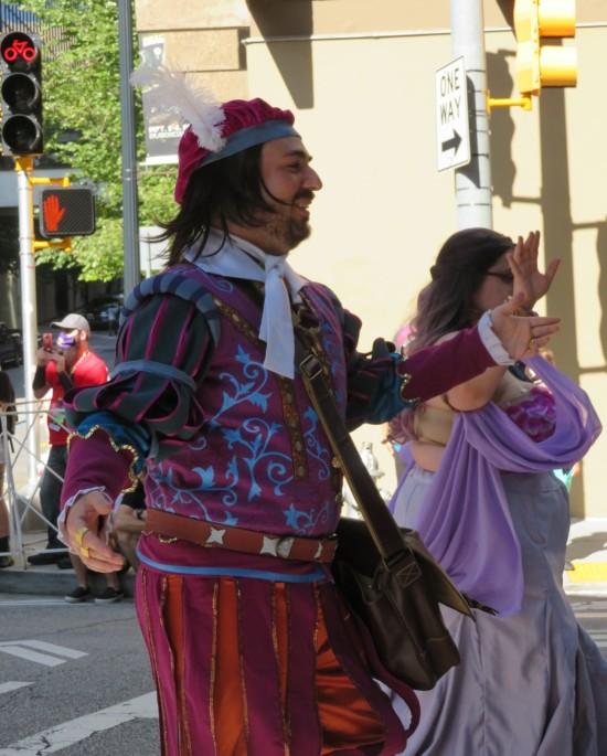 Shakespeare cosplay?