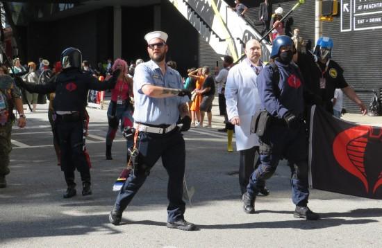 Shipwreck and Cobra cosplay!