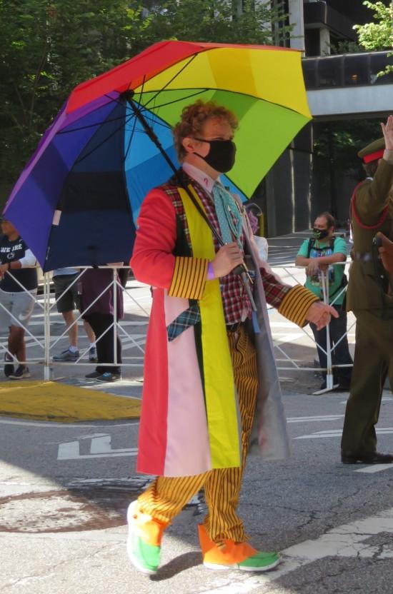 Sixth Doctor cosplay!