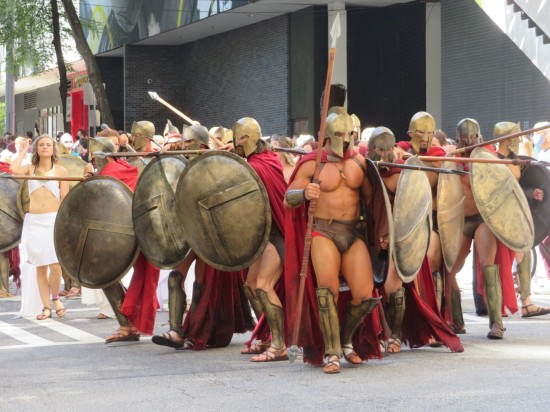 Spartans cosplay!