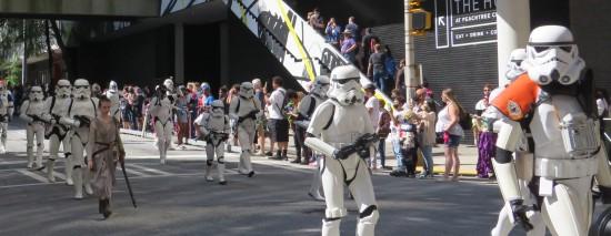 Stormtroopers cosplay!