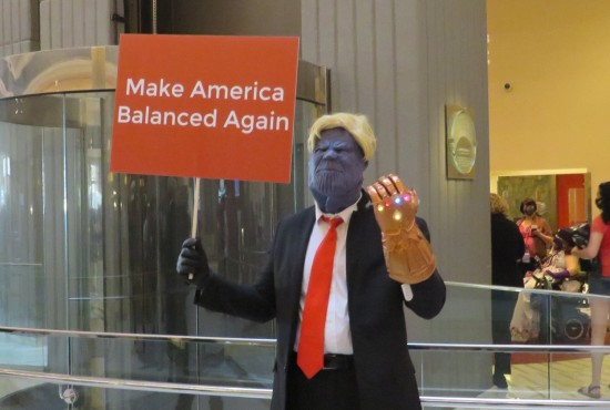 Thanos Trump cosplay!