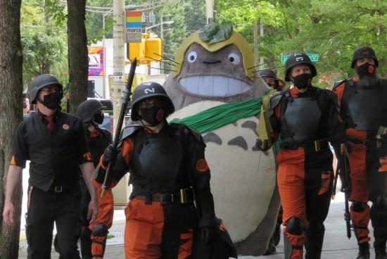 Totoro cosplay!