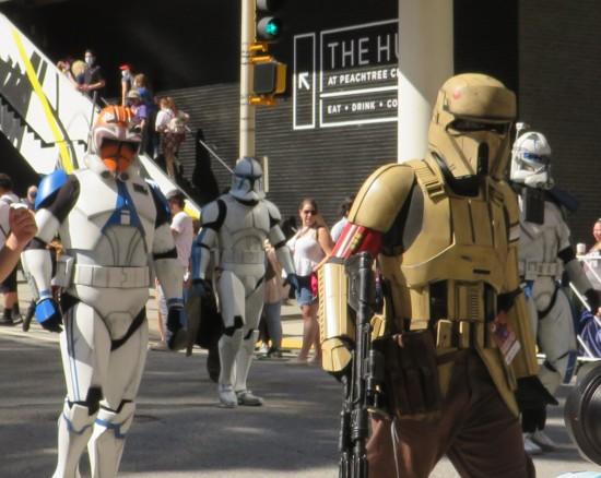 Trooper variant cosplay!