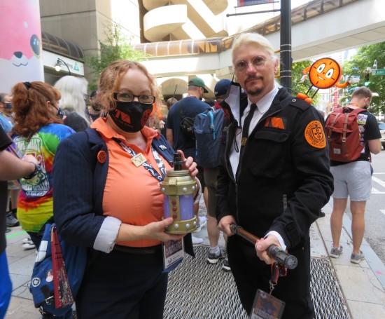 TVA staff cosplay!