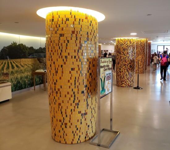 corn cob colonnade!