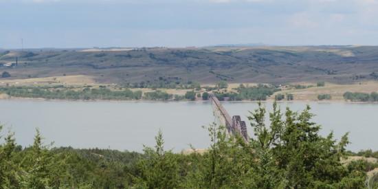 Missouri River bridge!