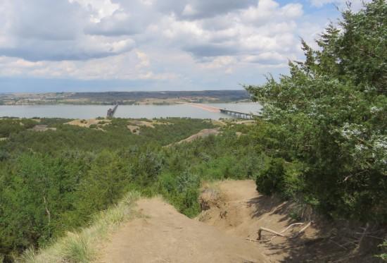 Missouri River path!