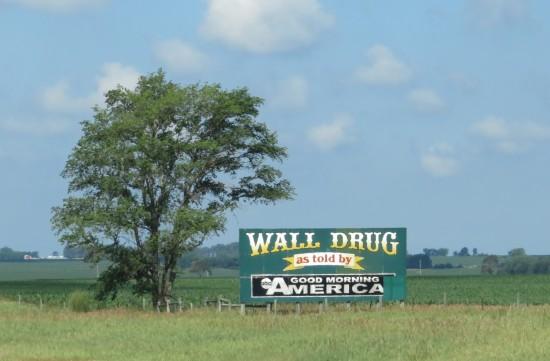 Wall Drug Good Morning America sign!